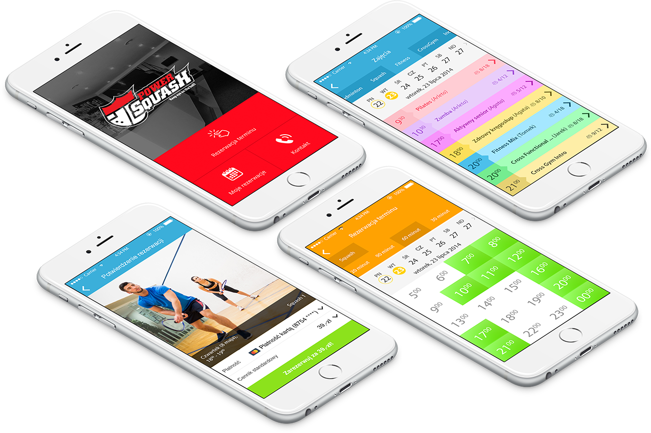 booking system mobile app